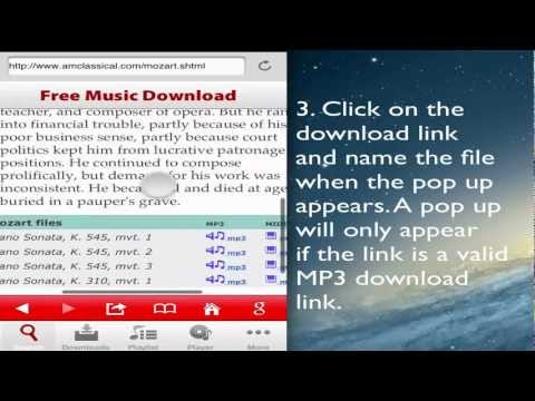 Free Music Download Downloader for iPhone using Search