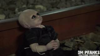 Ghost doll-Ghost baby-Ghost Child Scare Prank-Ghost 2016