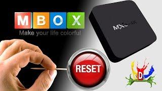 Como fazer funcionar o TV Box MXQ 4k  reset restaurar de fabrica seu tv box