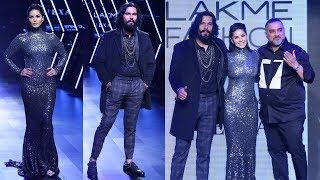 Sunny Leone & Randeep Hooda's Ramp Walk At Lakme Fashion Week 2017 Full Video HD