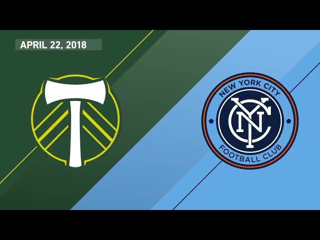 HIGHLIGHTS: Portland Timbers vs. New York City FC | April 22, 2018