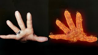 Photoshop Tutorial: Fire Hands Effects