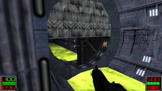 Star Wars Jedi Knight: Dark Forces II - (Level 9) Fuel Station Launch