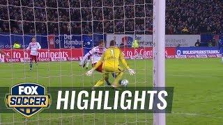 Hamburger SV vs. VfL Wolfsburg   2017-18 Bundesliga Highlights