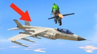 100% IMPOSSIBLE FLYING ROCKET BIKE CHALLENGES! (GTA 5 DLC)