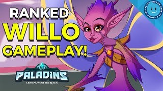 Paladins: Willo Ranked Gameplay - THE MILE HIGH CLUB! (Paladins WIllo Gameplay Loadout)