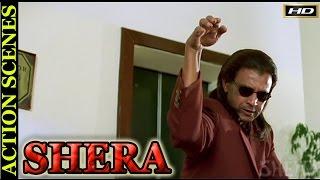 Shera Movie Zabardast Action Scenes   Mithun Chakraborty  