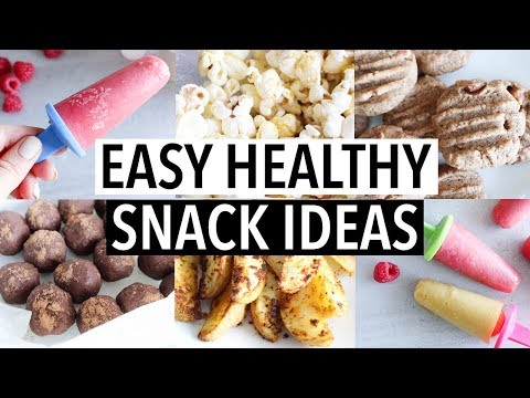 10 EASY HEALTHY SNACK IDEAS (You NEED to try! Low Cal, Healthy, Yum!)
