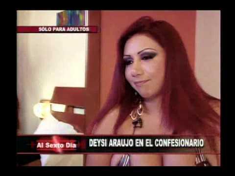 Confesionario sexual Deysi Araujo inaugura este ardiente juego
