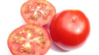blackheads removal at home ( With Tomato - Simple Technique ) Only One Ingredient