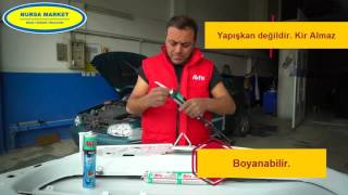 Akfix P-645 Poliüretan Metal Mastiği Nasıl Kullanılır - Nursa Market
