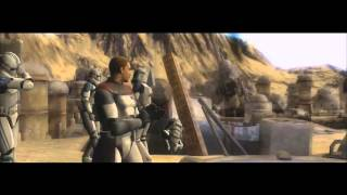 Star Wars Battlefront 3 Opening and Tatooine Cutscene