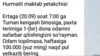 Ҳоким Озодликка хабар берган Ëшлар етакчисини қидирмоқда