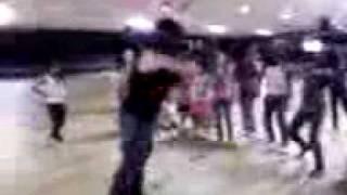 aunty tina break dancing
