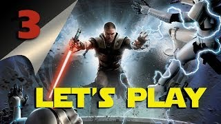 Let's Play | The Force Unleashed #3 - Junkyard Planet