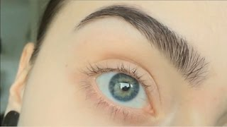 REQUESTED: how I dye, pluck and trim my eyebrows