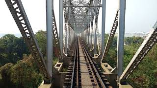 Railway bridge at kolaghat (RUPNARAYAN). Exclusive view& awesome experience.