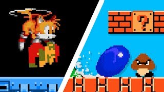 If Mario and Sonic switched places