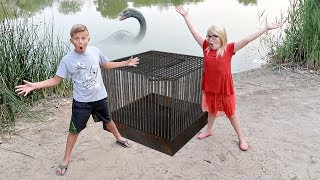 We TRAPPED the POND Monster!