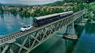 Land Rover Discovery Sport Pulls 100 Tonne Train