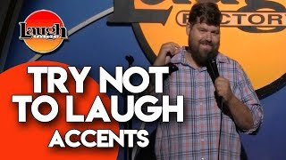 Try Not To Laugh | Accents | Laugh Factory Stand Up Comedy