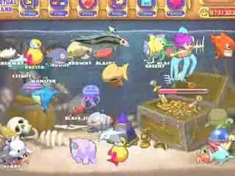 My Insaniquarium Pets and my Vrtual Tank