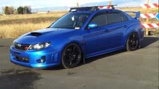 2012 Subaru WRX STI - Blacked Headlights