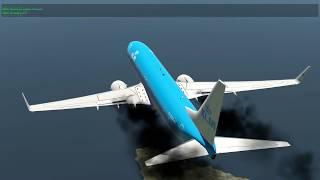 Engine Fires and Unconscious Crew Over Ireland 737-800 -XPlane 11