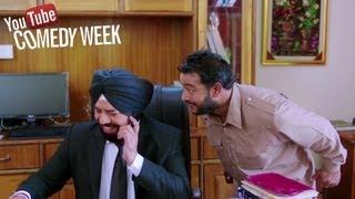 Best Comedy Dialogues by B N Sharma - Pooja Kiven Aa | Youtube Comedy Week India 2013