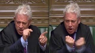 John Bercow: Speaker explodes at Boris Johnson for Commons suspension