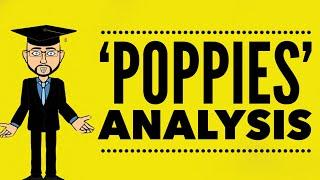 'Poppies' by  Jane Weir: Grade 9 Analysis