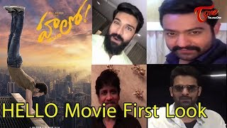 Celebrities Launches Akhil's HELLO Movie First Look