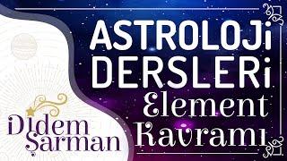 Astroloji Dersleri 3) Element Kavramı