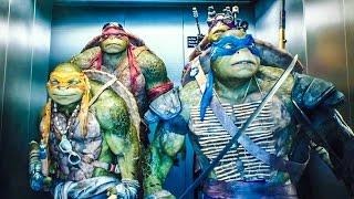 La tortugas Ninja-Escena del Ascensor (HD) Comico