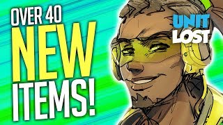 40+ NEW ITEMS! (Summer Games) / Console BANS?! - Overwatch News