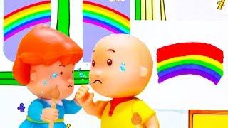 Caillou en Español | Caillou y el Arcoiris | Dibujos Infantiles Capitulos Completos