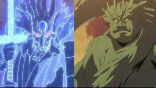 Naruto Shippuden Episode 368 ナルト 疾風伝 Review - Hashirama VS Madara Kaiju Battle!