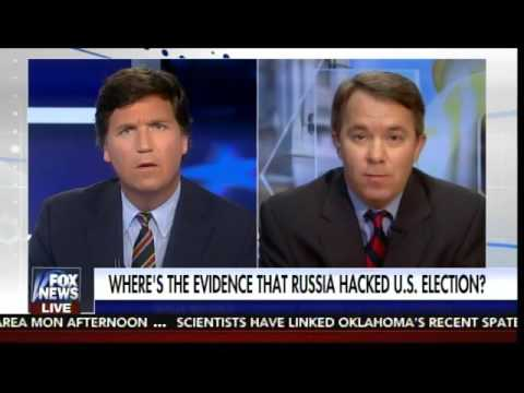 Tucker Carlson DESTROYS Far Left Crank on Russian Hacking Scandal