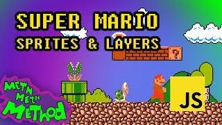 Code Super Mario in JS (Ep 2) - Sprites & Layers