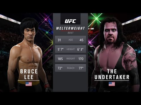 Xxx Mp4 Bruce Lee Vs Undertaker EA Sports UFC 2 CPU Vs CPU 3gp Sex