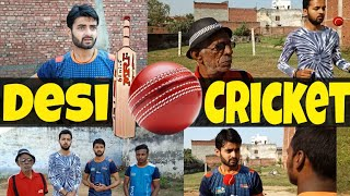 Desi Cricket || Gully Cricket || Desi panchayat vale || Chuahan Vines || Morna Entertainment