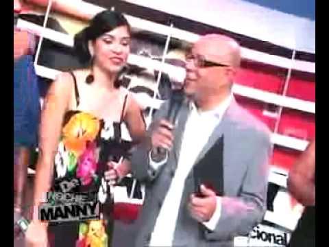 VIKIANA ENSEñA POPOLA EN LA TV DOMINICANA