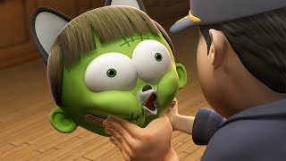 Funny Animated Cartoon | Spookiz | Is this The End?! 스푸키즈 | Cartoon For Children