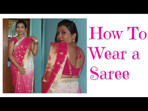 How to wear Saree Perfectly   Plus size women
