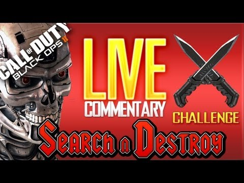 Black Ops 2: KNIFE CHALLENGE #3 - Search n Destroy ( BO2 BLOPS2 ) @ONLYUSEmeBLADE