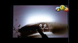 برنامج سر المهنة جلقة الرسم بالرمال اخراج أشرف فكرى (قناة المجد الفضائية )