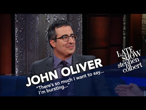 John Oliver Also Went To Russia And Won t Hurry To Return