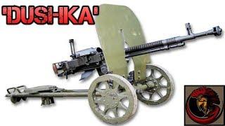 DShK 12.7mm Heavy Machinegun - Russian Firepower At It