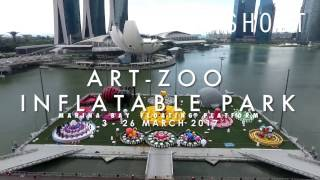 Art- Zoo Inflatable Park Singapore, 3 - 26 March 2017