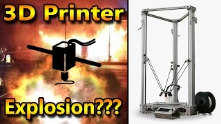 3D printer explosion takes a life, or did it?